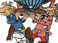 Chief's shieldbearers