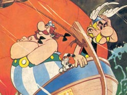 Asterix and the Great Crossing (1975)