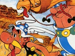 Asterix and the Black Gold (1981)